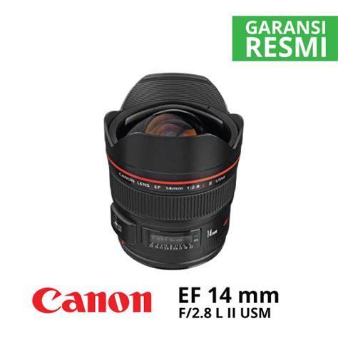 Canon Lens Ef 14mm F2 8 L Ii Usm canon ef 14mm f 2 8 l ii usm harga dan spesifikasi