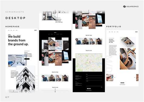 Maxima Squarespace Portfolio Template 2017 D Ad New Blood Winner Squarespace D Ad Squarespace Portfolio Templates