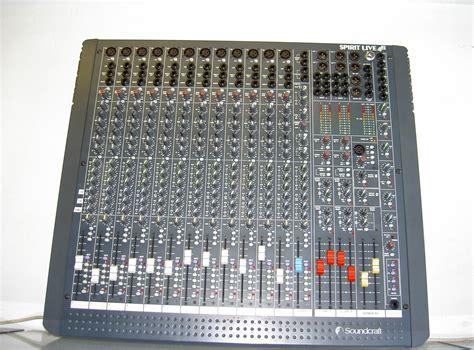 Mixer Spirit Live 4 Bekas soundcraft spirit live 4 2 12 6 2 image 432732