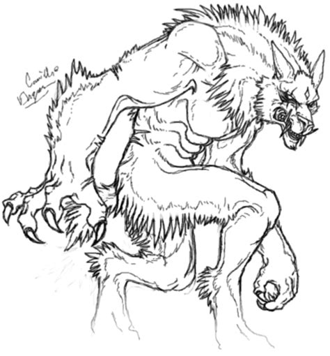 halloween coloring pages werewolf werewolf coloring pages bestofcoloring com