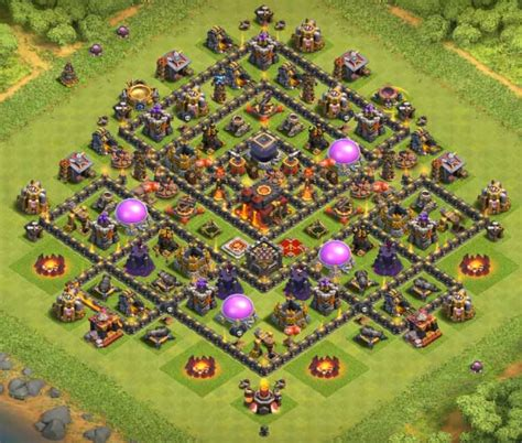 clash of clans th10 hybrid layout 10 best th10 hybrid bases with 2017 cocbases