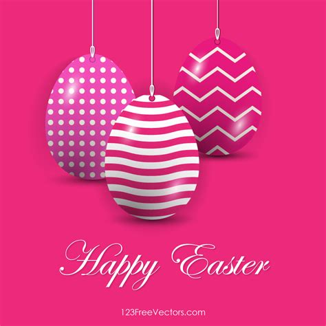 Brush Egg In Pink easter eggs in pink background vector free 123freevectors