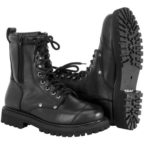 mens leather field boots 139 95 river road mens zipper leather field boots