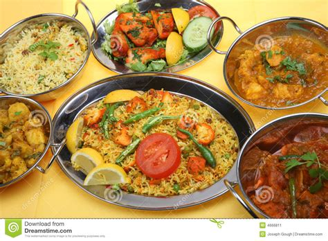 indian curry dinner indian curry food meal dinner stock image image 4666811