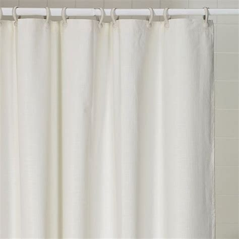 heavy shower curtain weighted freedom heavy duty weighted shower curtains