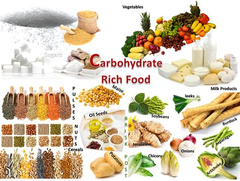 list of carbohydrates list of carbohydrate foods weight loss for busy