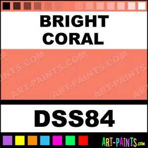 bright coral sosoft fabric acrylics fabric textile paints dss84 bright coral paint bright