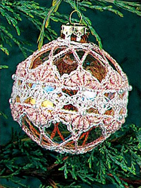 free crocheted christmas ornament patterns easy crochet