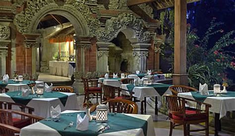terrace restaurant ubud hotel tjuhan spa official site