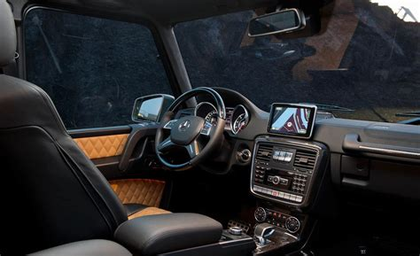 mercedes g63 interior car and driver