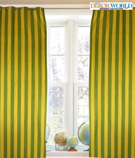 lemon green curtains dekor world striking lemon yellow and green curtain buy