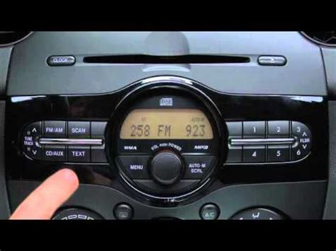 mazda 2 aux input 2012 2011 mazda 2 auxiliary audio input tutorial