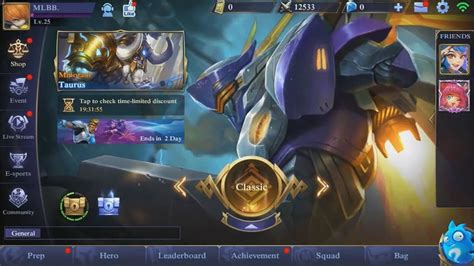 mobile legend update new ui interface e sports mobile legends update