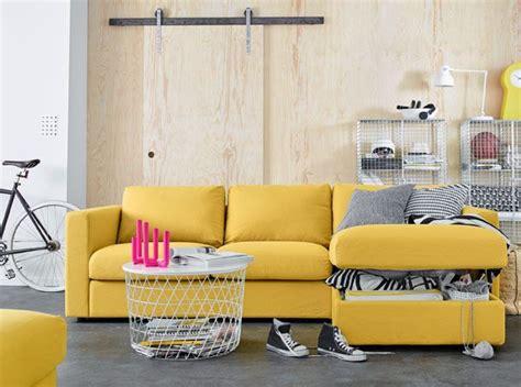 vimle ikea sofa review ikea vimle yellow sofa our home to be