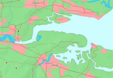 river thames drainage basin map thames and medway canal wikipedia
