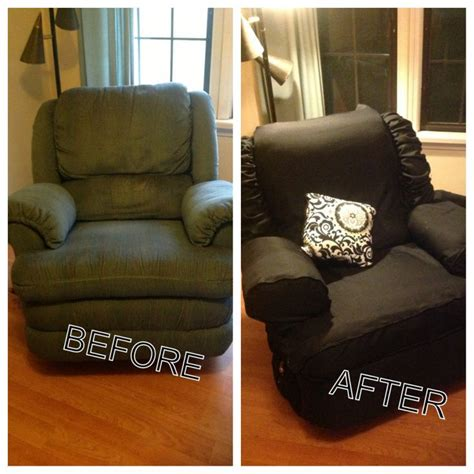 lazy boy armchair covers diy recliner cover pinteres