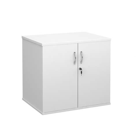 Small White Cupboard by White Desk High Office Storage Cupboard Lockable