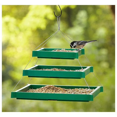 2 kaytee 174 triple platform bird feeders 222078 bird