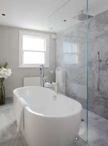 Open Bathroom Designs Open Shower Ideas Modern Bathroom Laura Hammett
