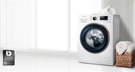 Samsungs Designer Washing Machine by Samsung S Ww6000 Ecobubble Can Wash A 5kg Load In 59
