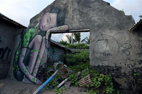 tropicafestival seth globepainter  bali streetartnews
