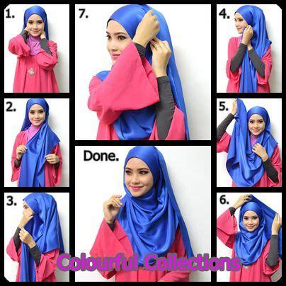 tutorial hijab simple satin tutorial jilbab segi empat untuk wajah bulat simple cantik