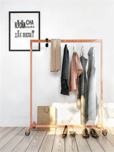 Small Rolling Clothes Rack by Rolling Garment Rack Design Interior Design Ideas