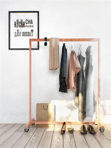 design clothes rack duplex penthouse with scandinavian aesthetics industrial