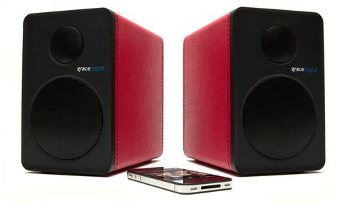 grace digital gdi btsp201 aptx bluetooth 4 0 speakers