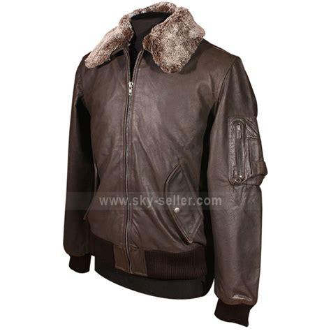 Jaketexpress Boomber Brown Jacket Boomber pilot vintage a2 bomber leather brown jacket