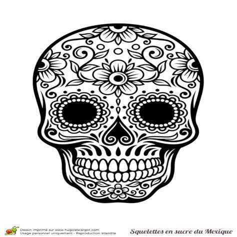 Dessin A Imprimer Tete De Mort