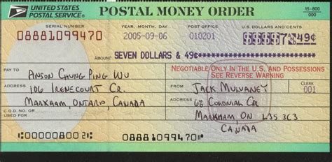 Money Order Post Office by Collocation Others Jacob