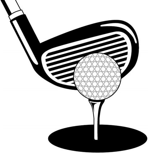 golf clipart black and white golfer clip black and white