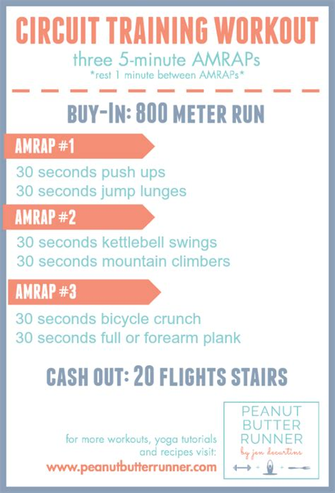 best workout week boot c circuit classes and 5k