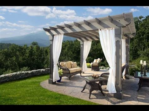 outdoor curtains outdoor curtains  patio walmart youtube