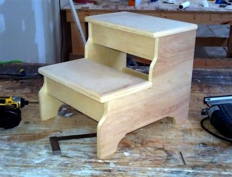 step stools for beds hand crafted bedside step stool by ambassador woodcrafts