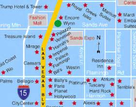 Map Las Vegas Hotels by Las Vegas Hotel Wynn Las Vegas