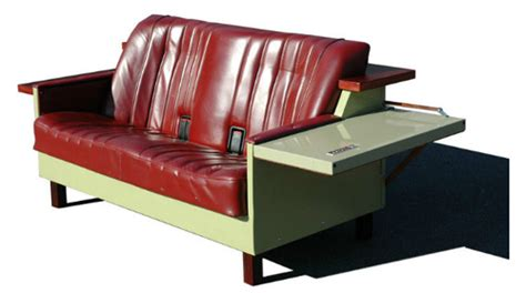 car seat couch ecolife 1 sofas made from old fridges and car seats
