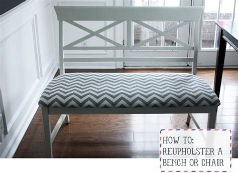 cost to reupholster bench seat houndstooth to chevron in 15 minutes flat honest to nod