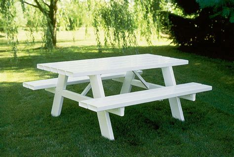 garden picnic bench garden and patio rectangle outdoor wood picnic table with