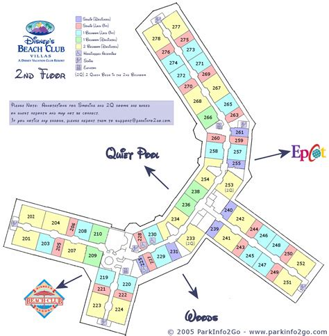 disney beach club floor plan disney vacation club beach club villas floorplan 2nd