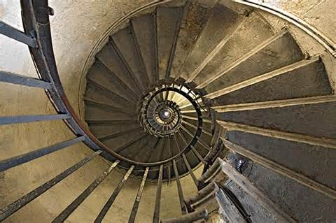 Washington Monument Stairs by Monument S Spiral Stairs From Below