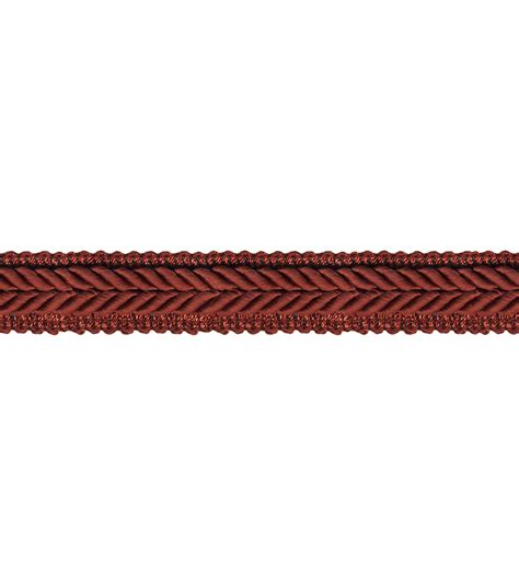 home decor trims home decor trim waverly 3 4 braided gimp spice jo ann