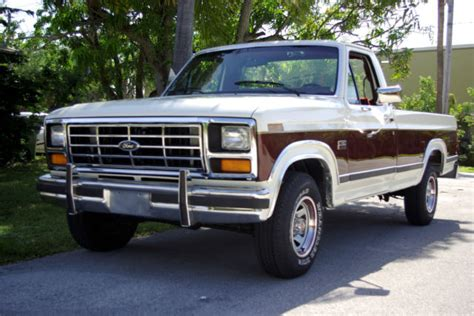 auto body repair training 1986 ford f series interior lighting ford f 150 standard cab pickup 1986 offwhite burgundy for sale 1ftef15h7gla72699 1986 ford f