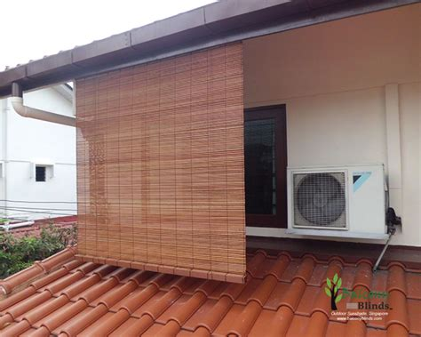 Porch Blinds by Outdoor Bamboo Blinds Gallery Balconyblinds
