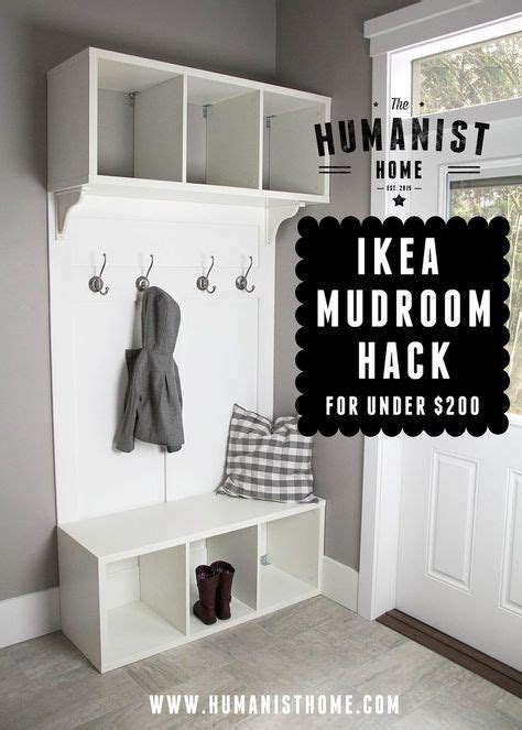 ikea mudroom ideas 1000 ikea mudroom ideas on oak bench