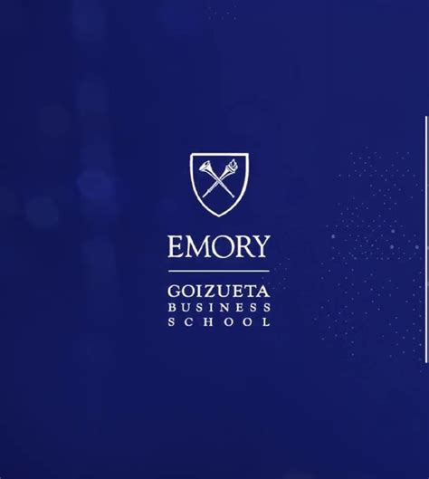 Emory 2018 Mba Academic Calndar by Emory S Goizueta Business School Ko 231