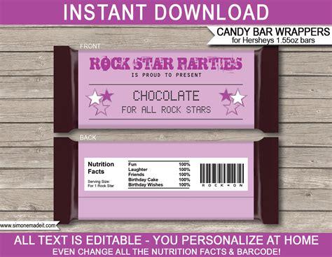candy bar wrapper template wordscrawl com