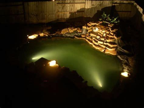 koi pond lights koi landscape lighting lawn care home construction do chosen