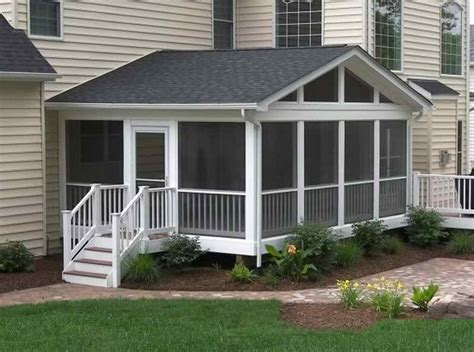 Screened Patio Designs Screened In Porch Ideas Will Show You That These Come In A Wide Array Of Sizes To Fit All Sizes